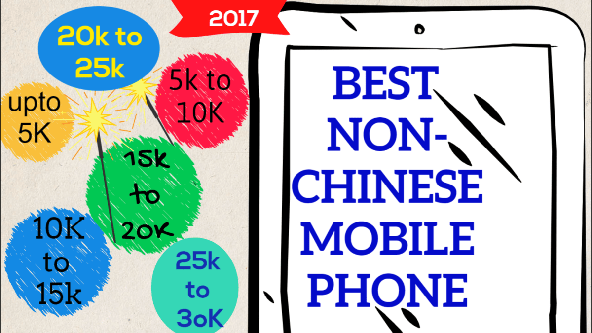 Best Non-Chinese Mobile Phones in India